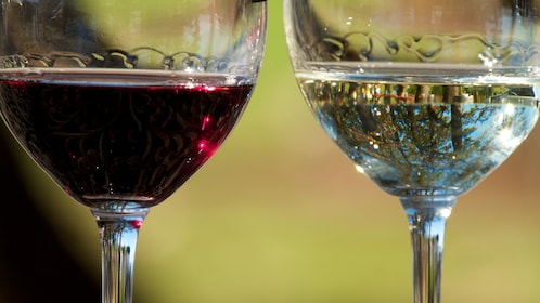 Glasses of wine in Cleveland