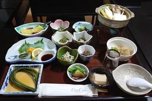 "Hijiori's original vegetarian meal ""Gekiyama no Miezen"" Vegetaria..."