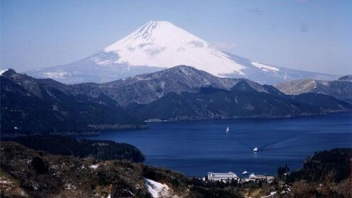 Beautiful mountain view of Japan