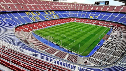 Stunning view of Camp Nou Stadium in Barcelona