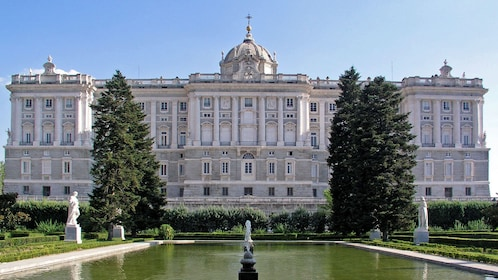 Royal Palace of Madrid during the day