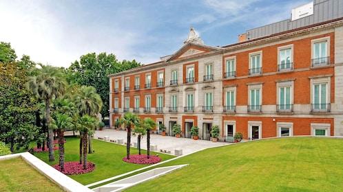 Thyssen-Bornemisza Museum in Madrid Spain
