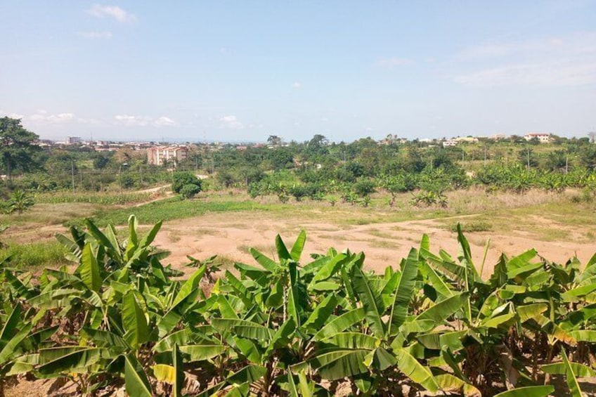 Romantic walking tour in Kumasi