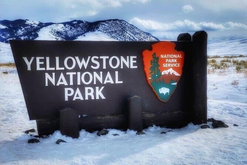 Show item 4 of 30. Yellowstone Winter Private Jeep Tour from Bozeman
