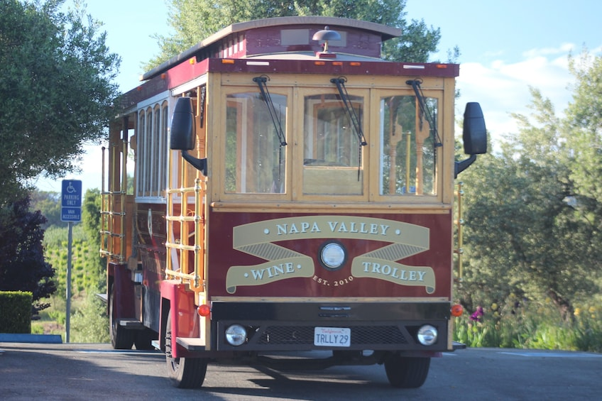Classic Open Air Napa Valley Wine Trolley Tour