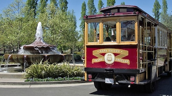 Premium Up Valley & Castle Trolley Tour