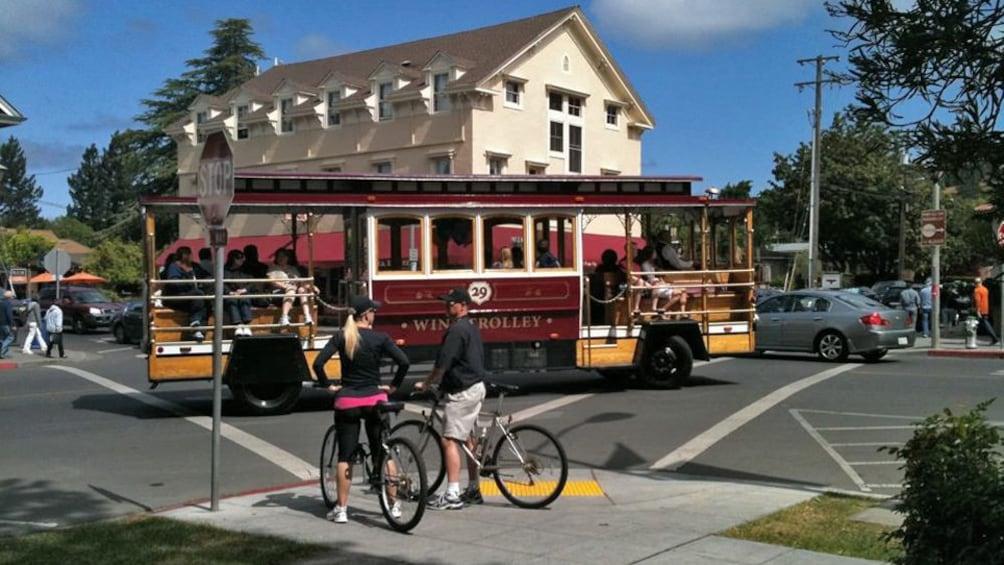 Wine Trolley in California