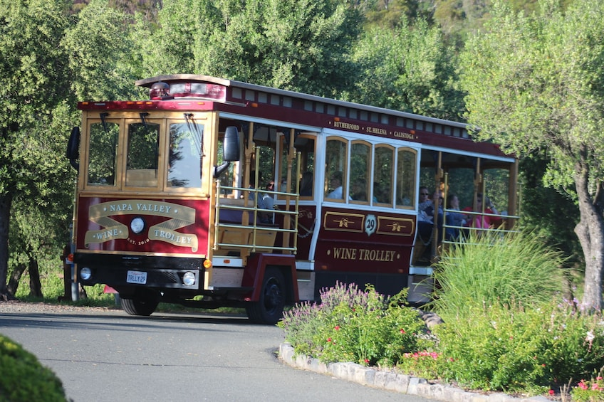Sonoma Valley Open Air Wine Trolley Tour
