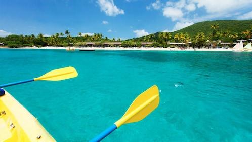 Kayaking in the Caribbean