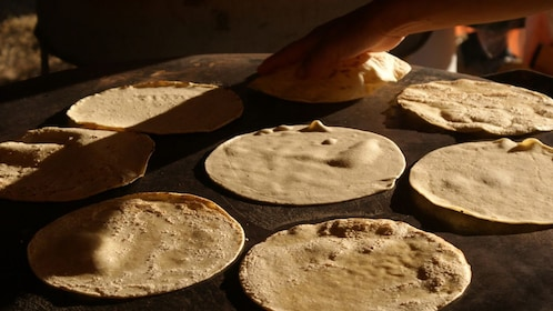 Tortillas being made in Houston