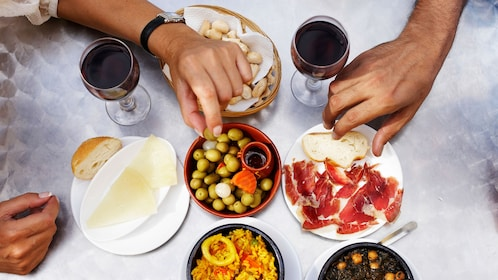 Tapas at a restaurant in Houston