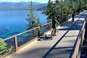 Full-Day Electric Bike Rental in Lake Tahoe