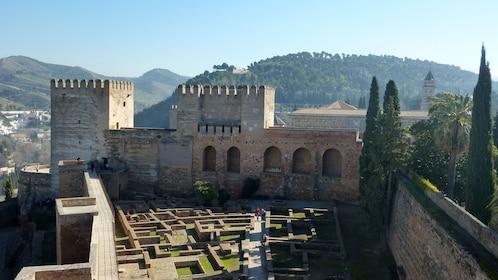Alcazaba Fortress in Granada