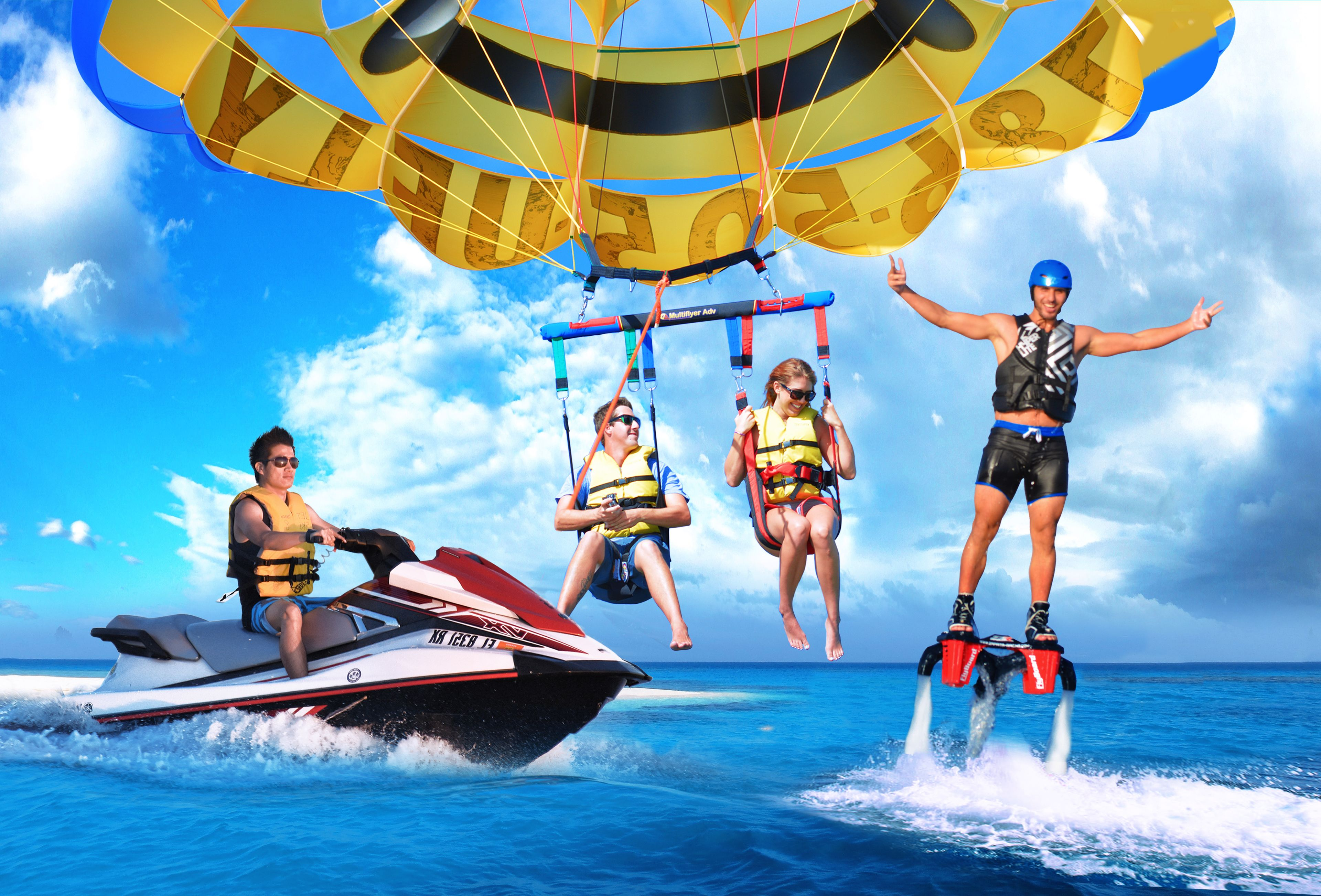 Ultimate Package with Miami Watersports