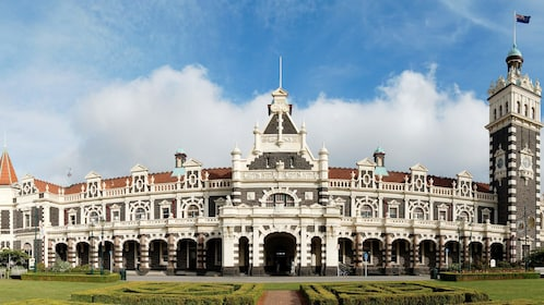 Beautiful building in New Zealand