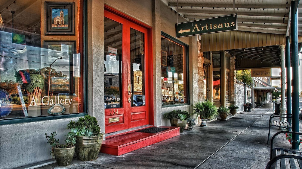 artisans store front in san Antonio