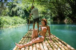 Bamboo River Rafting On The Martha Brae
