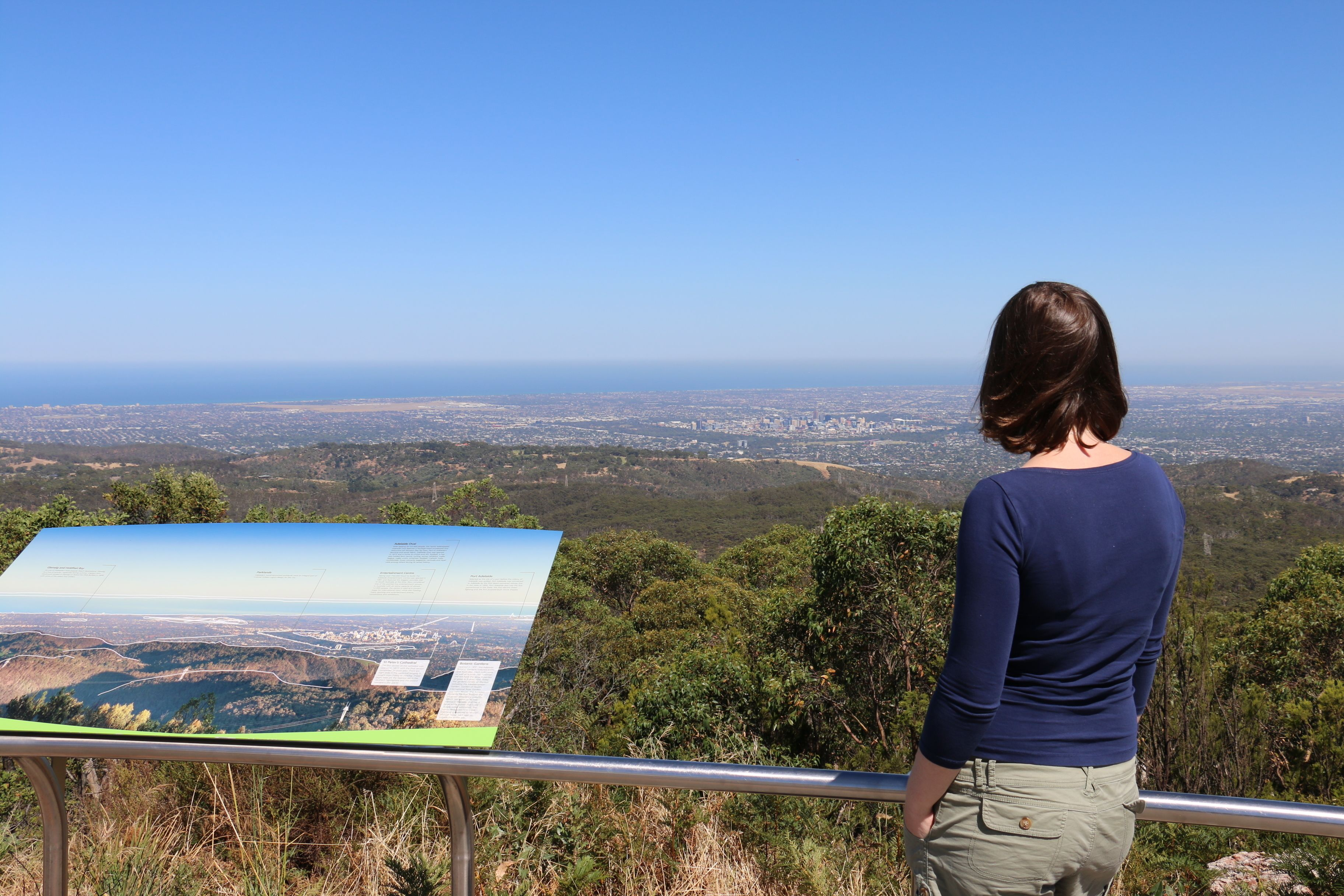 Half-Day Self-Guided Hiking Tour to Waterfall Gully & Mount Lofty
