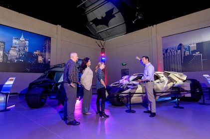 Warner Bros. Studio Tour Hollywood allows guests an up-close look at the authentic Batmobiles from their favorite Batman films..JPG