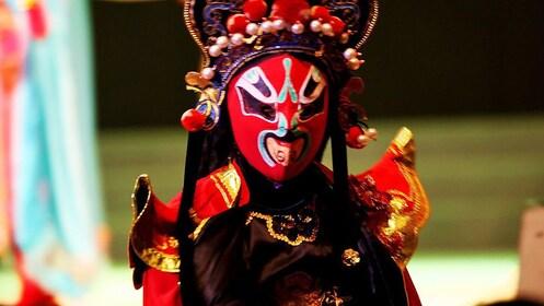 Performer at the Sichuan Opera in Chengdu