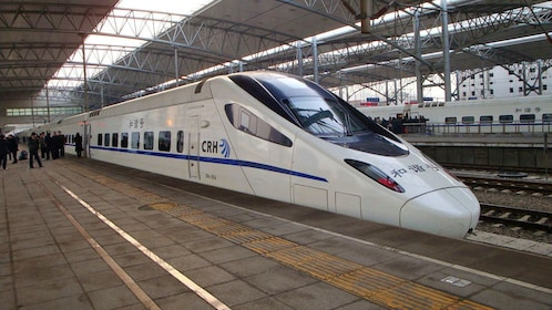 Express and scenic bullet train ride to Nanjing from Shanghai