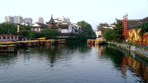 Serene view of a lake in Nanjing