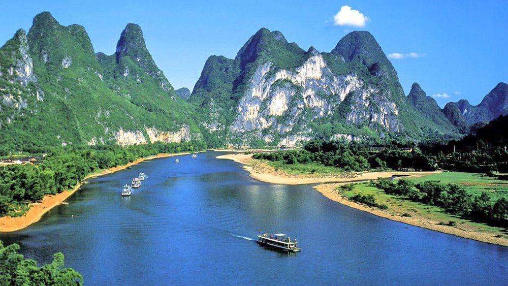Beautiful view of Guilin