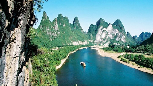 Stunning river view of Guilin