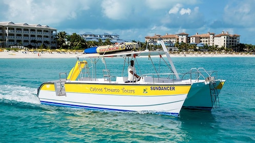 View of the private charter tour in the Turks and Caicos