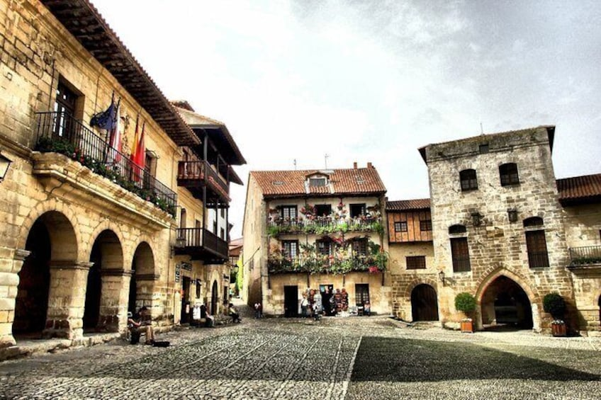 "Show item 1 of 3. Guided tour ""Love stories of Santillana"""