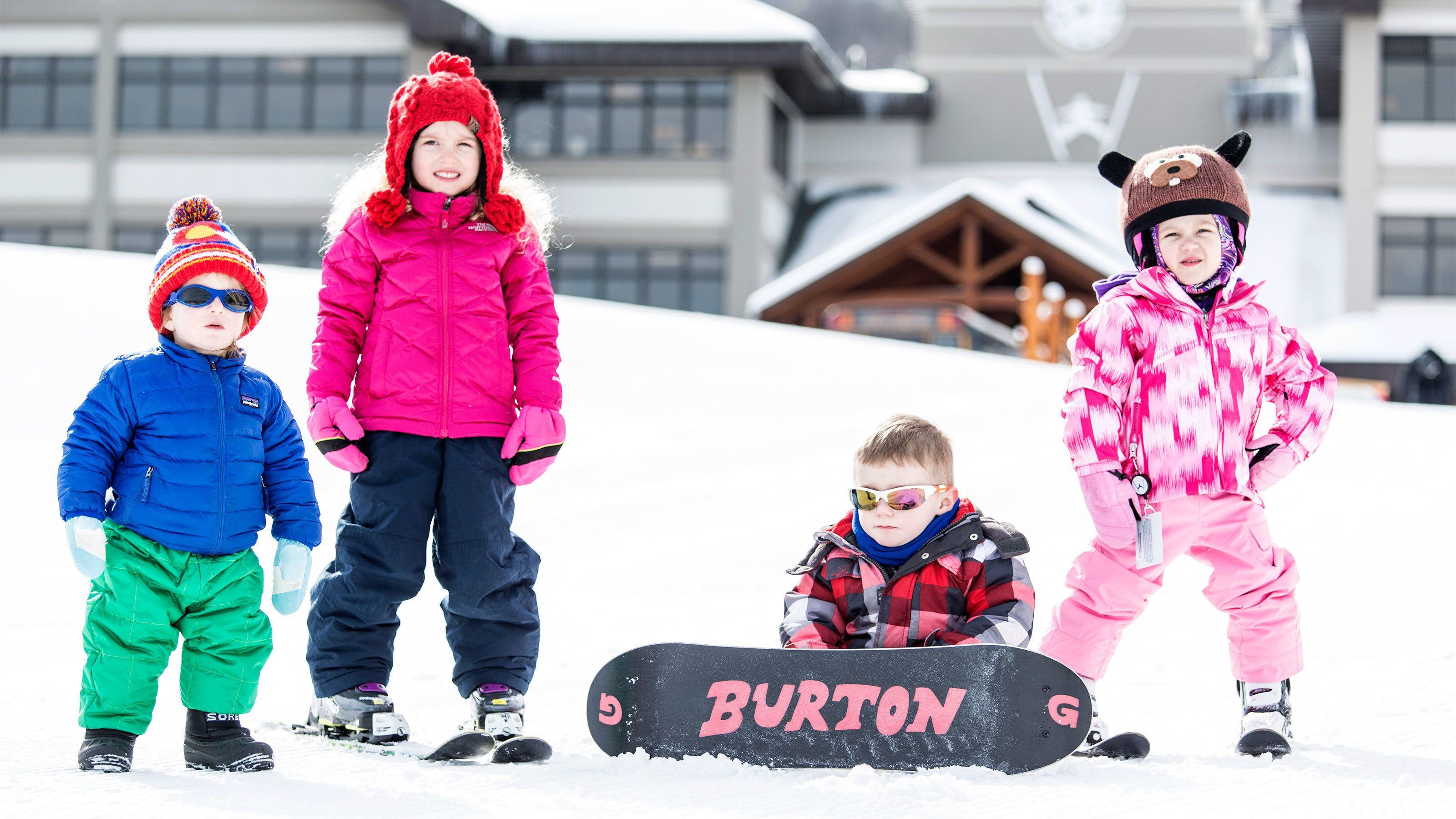 Kids on the Hunter Mountain Ski Resort Day Trip