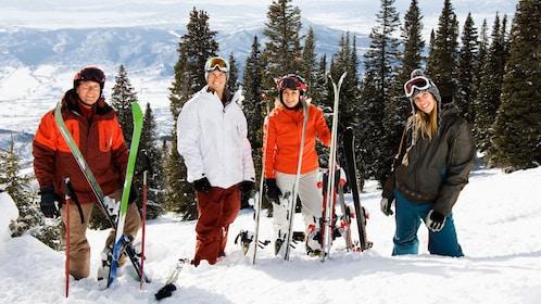 Group enjoying the Hunter Mountain Ski Resort Day Trip