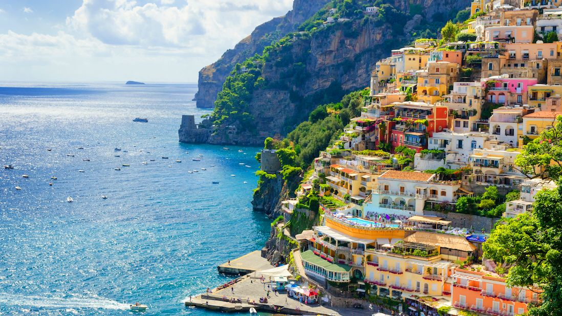 Amalfi Coast ocean view