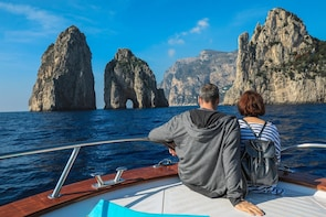 Sorrento Coast & Capri Tour by Boat from Sorrento or Naples