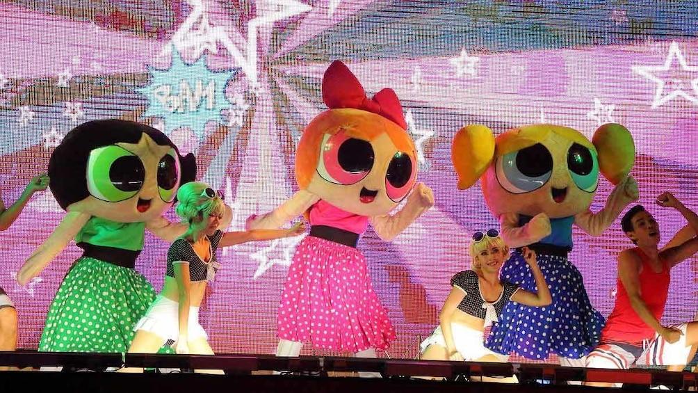 正在顯示第 3 張相片,共 7 張。 powerpuff girls stage show
