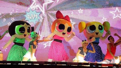 powerpuff girls stage show