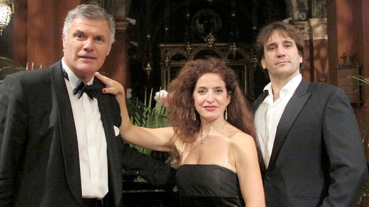 Group at the New Year's Eve Dinner & Gala Concert in Florence