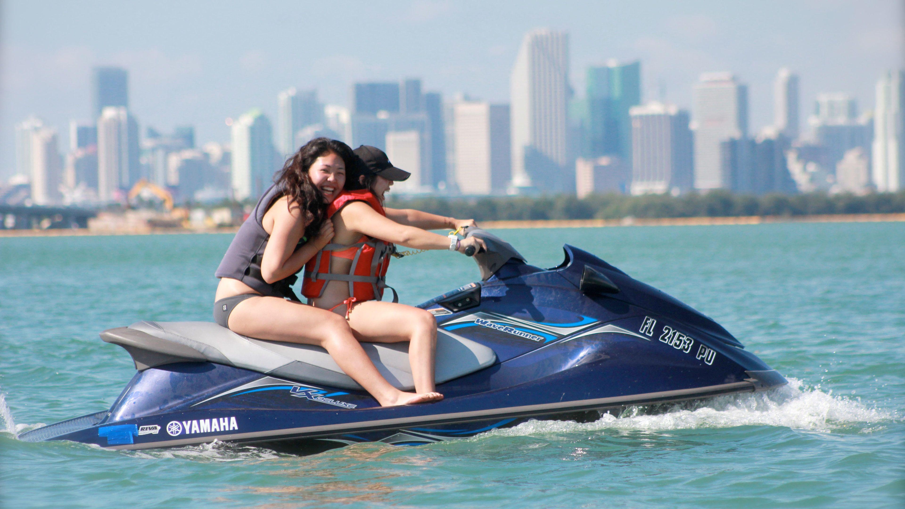 Jet ski on Miami Beach