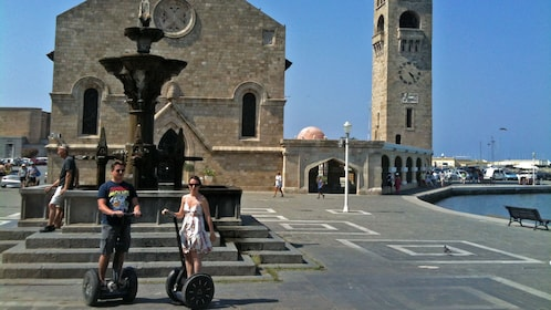 segway riders near landmark in Rhodes