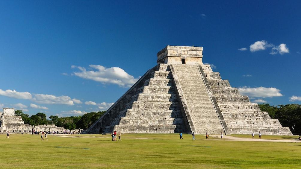 Show item 1 of 10. Chichen Itza pyramid