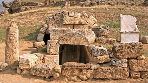 Necropolis in Pamukkale
