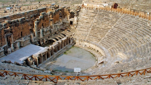 the theater of Hierapolis