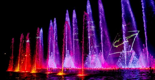 The Dancing Waters Show with Lasers