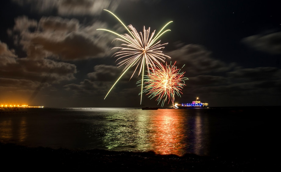 Show item 4 of 7. WaveDancer Fireworks Night