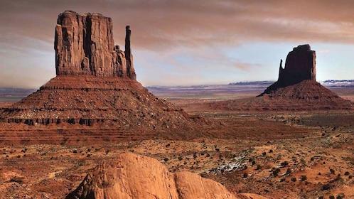 Beautiful desert view of Arizona