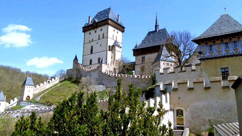 Electric Bike Ride to Karlstejn Castle