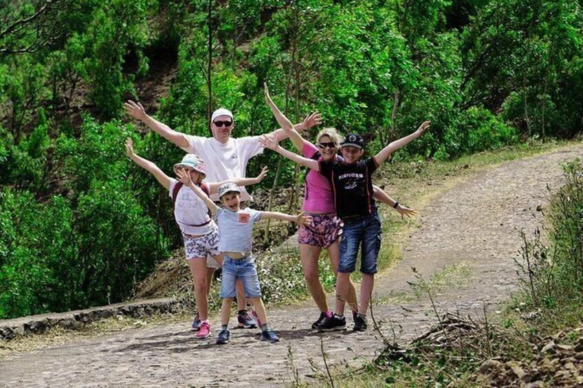 Show item 1 of 14. Santiago Island: Trek from Serra Malagueta to Rabelados Community