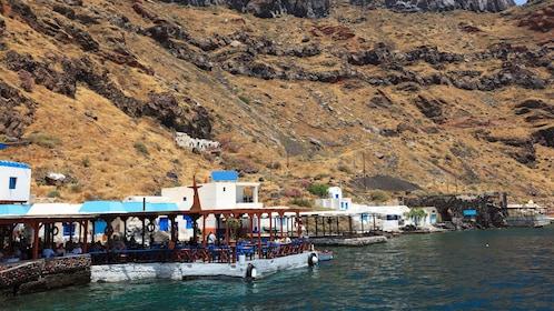 Thirasia Island Santorini Greece