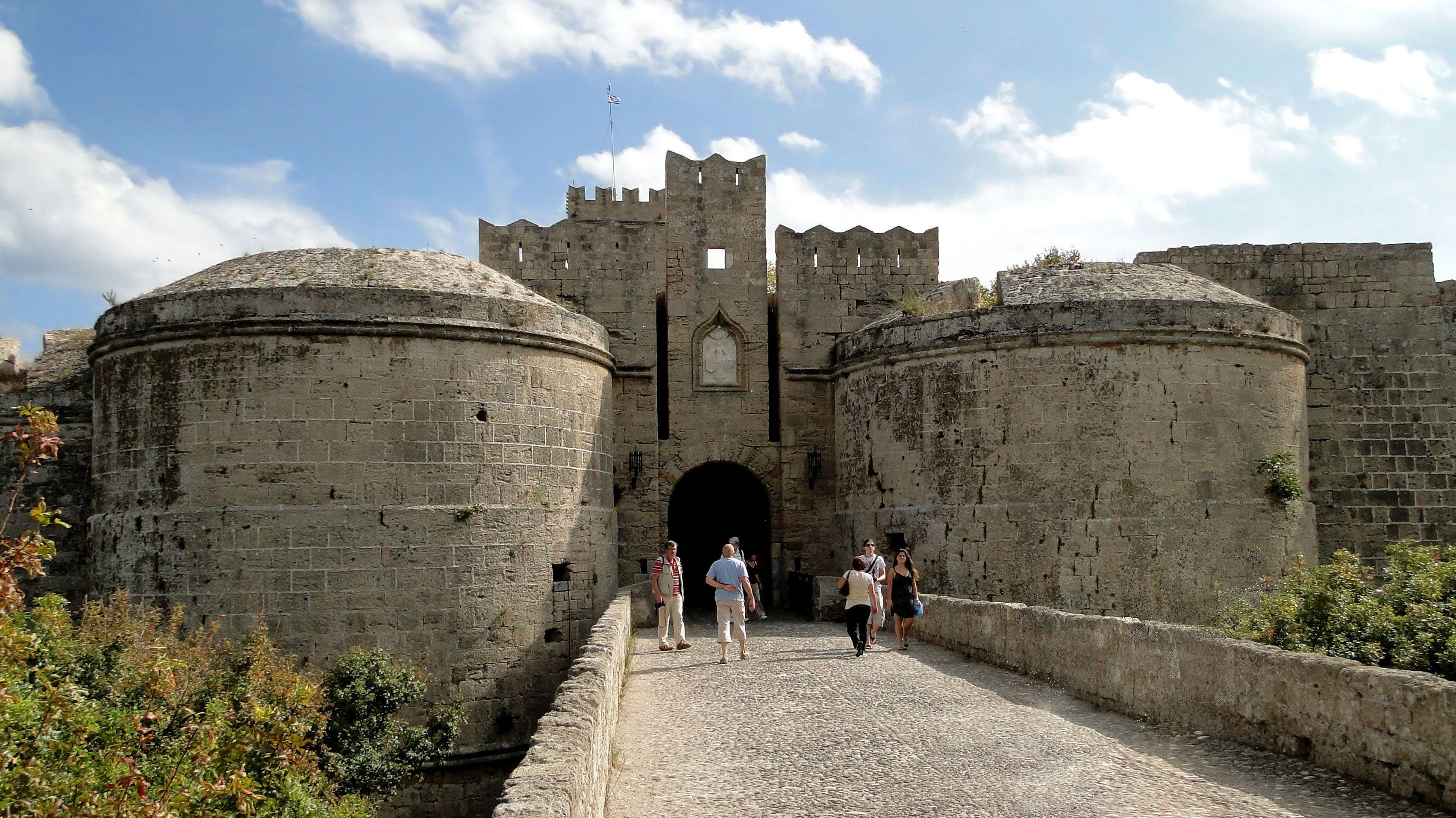 Private Rhodes Town Walking Tour