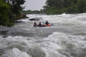 Private Whitewater Tubing in Bujagali Hydropower Plant